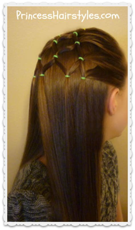 elastic christmas tree hairstyle hairstyles for girls