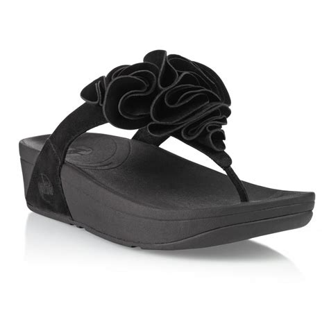 fitflop black sandals fitflop frou black suede sandal fitflop from crichton