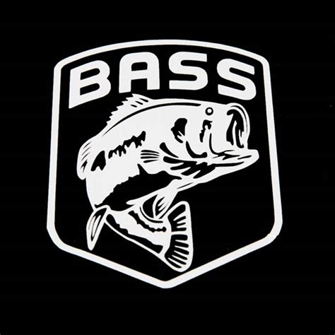 bass fishing boat stickers bass fishing decals