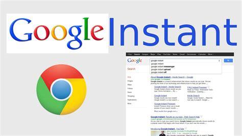 www google commed google instant in google chrome youtube