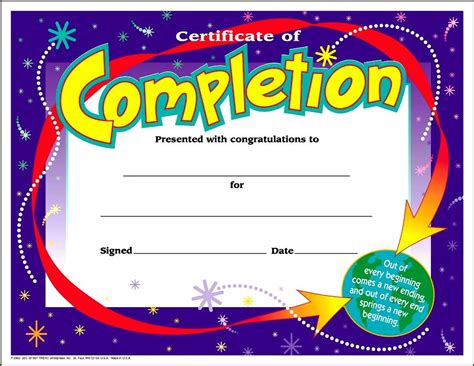 templates for certificates for students free homework certificate printables