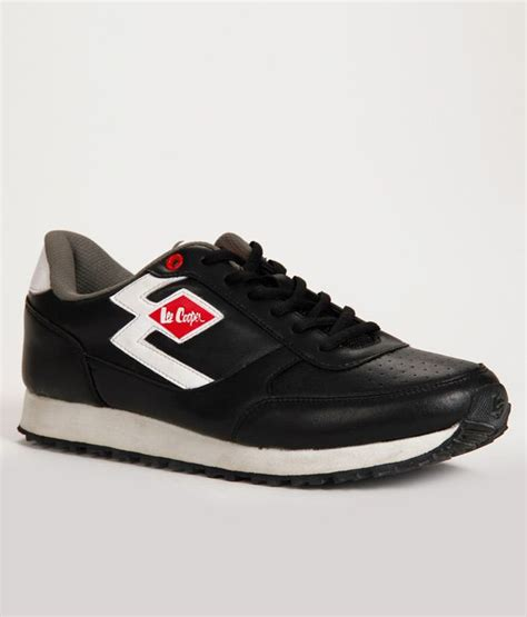 leecooper sports shoes cooper sports gusto black sports shoes price in india
