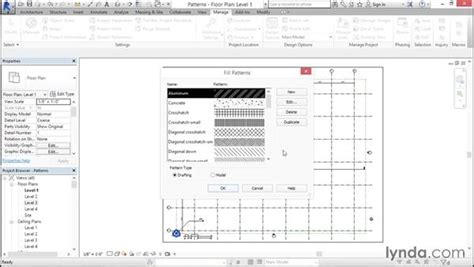 line pattern with text revit fill and line patterns
