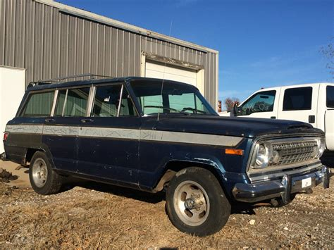 jeep transfer 1977 jeep wagoneer 401 engine runs drives low