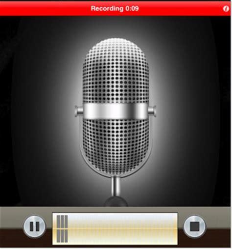 voice recorder  ipadipad app finders