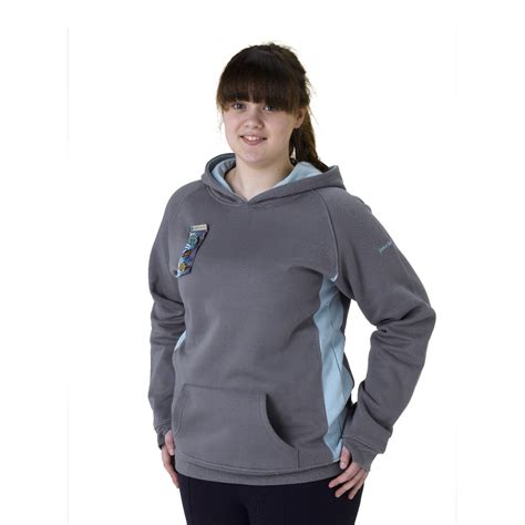 senior section senior section grey hoodie senior section wear girlguiding