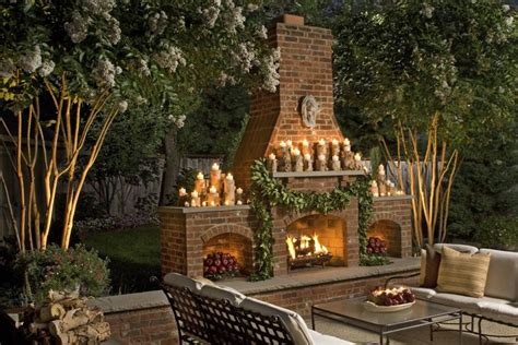 outdoor fireplace unique fireplaces