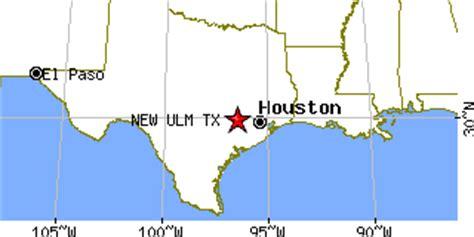 new ulm texas map new ulm texas tx population data races housing economy