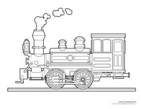 printable train template free train craft for a train
