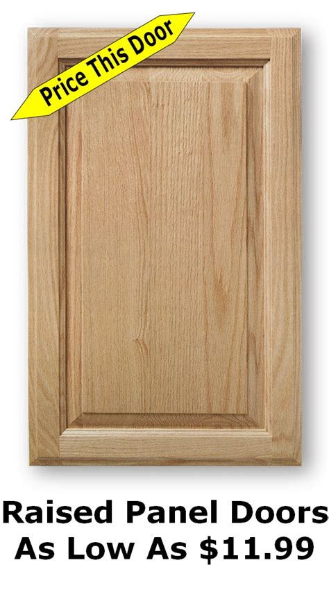 raised panel cabinet doors for sale unfinished shaker cabinet doors as low as 8 99