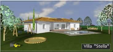 villa stella plan de provence construction de