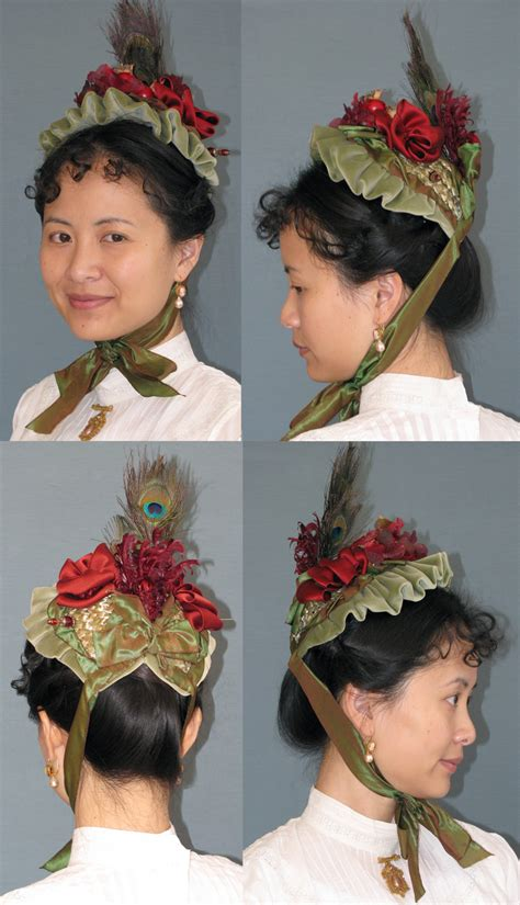 free pattern victorian bonnet late victorian small bonnet pattern lynnmcmasters hat