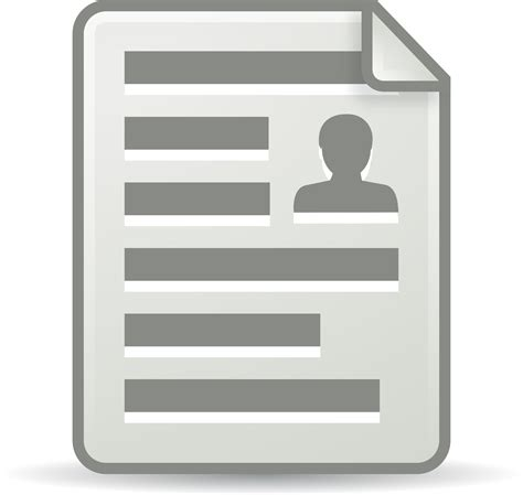 clipart office document