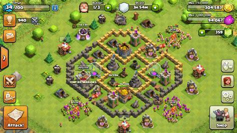layout yang bagus untuk coc desain base terbaik dan terburuk th 6 coc untuk melindungi