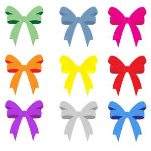 colorful bows ribbons free stock photo domain