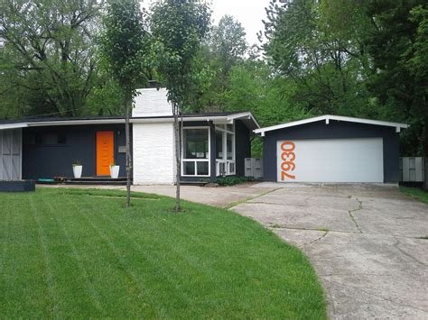 mid century modern ranch house a colorful mid century modern ranch home with a customized