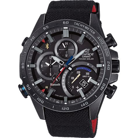 casio bluetooth reloj casio edifice eqb 501trc 1aer bluetooth connected