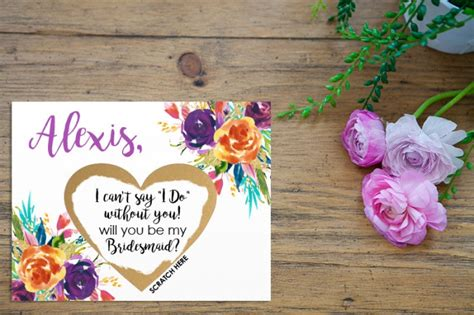 make your own will you be my bridesmaid cards 12 ways to pop the question to your bridesmaids intimate