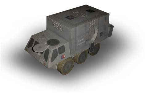 Firefly Papercraft - firefly alliance troop transport free paper model