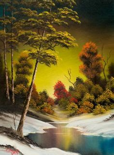 bob ross painting classes indiana animated wallpaper screensaver 240x320 for cellphone