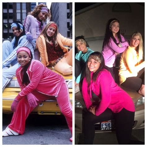 themes for group photo cheetah girls costume costume halloween teen party