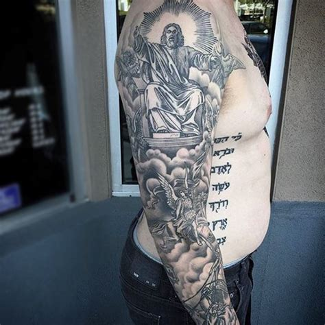 religious themed sleeve fantastic christian themed jesus sleeve designs for guys