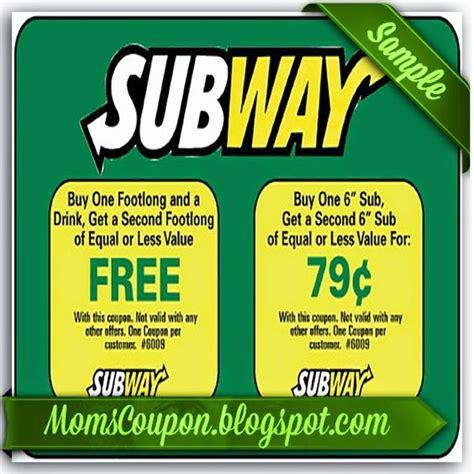 printable subway coupons july 2015 subway coupons
