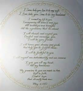 The most beautiful wedding vows to help you have a great wedding
