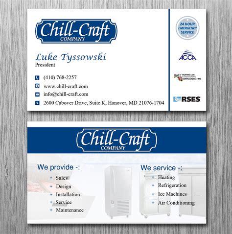 Hvac Business Card Ideas