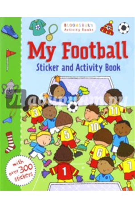 my and football books quot my football sticker activity book quot