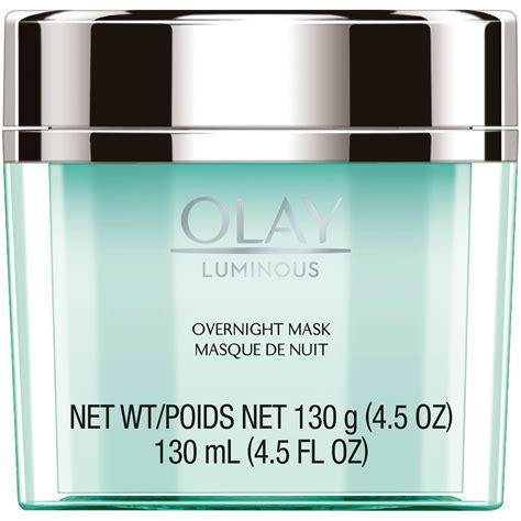 Masker Olay olay regenerist luminous overnight mask gel moisturizer 4 5 oz shop your way