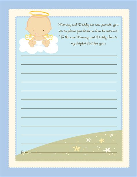 Note For Baby Shower baby shower notes sorepointrecords