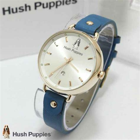 Harga Jam Tangan Merk Hush Puppies jual jam tangan hush puppies hp 3802 tali kulit ring gold