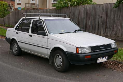 toyota ae88 1985 toyota corolla ae80 sedan classic cars