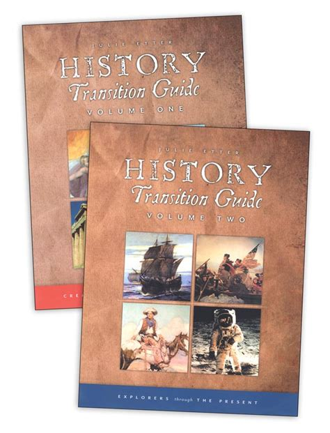 Transition Volume 1 history transition guides volume 1 and 2 set htgset