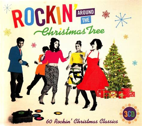 rockin around the christmas tree original tonart rockin around the tree 3 cd new best of rock n roll 50s songs ebay