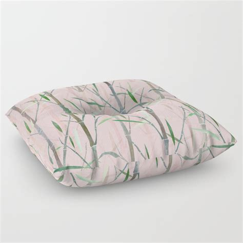 Pink Floor Pillow by Bamboo Forest Pink Floor Pillow By Rodrigomffonseca Society6