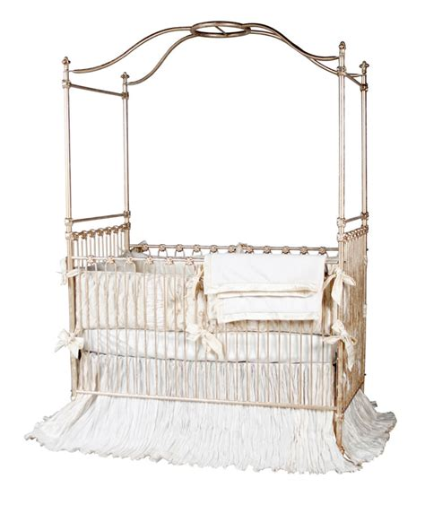 Canopy Crib In Gold Baby Cribs With Canopy