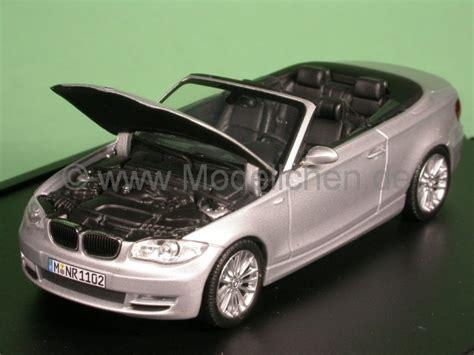 Bmw 1er Cabrio Gewicht by Bmw E88 1er Cabrio Silber Modellauto Minichs 1 43