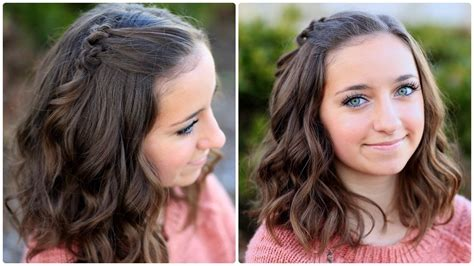 cute girl hairstyles knot triple knot accents short hairstyles cute girls hairstyles