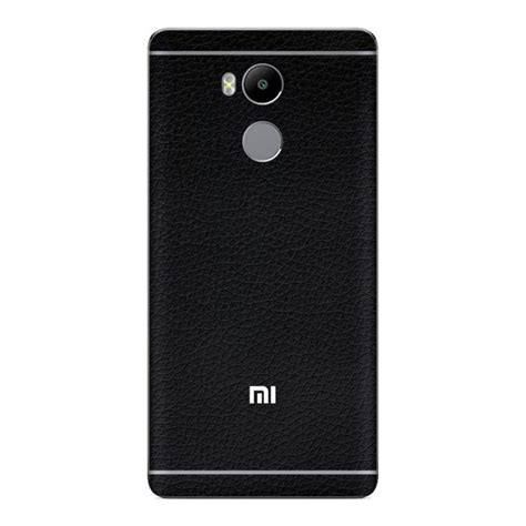 Skin Premium Xiaomi Redmi 4 Prime 3m Black Wood Skin Premium Xiaomi Redmi 4 Prime Black Leather