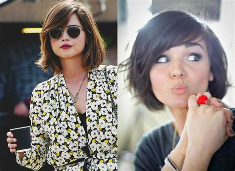 Bob Hairstyles With Side Bangs by Best Bob Haircuts With Bangs Hairdrome