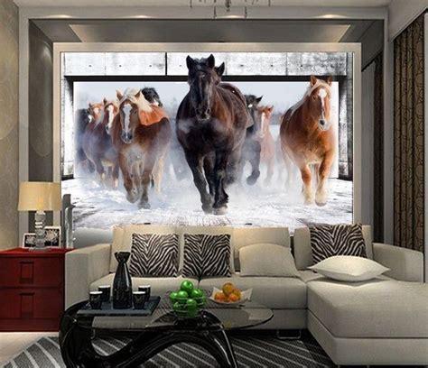 horse wallpaper for bedrooms 3d wallpaper bedroom living mural roll modern horse run