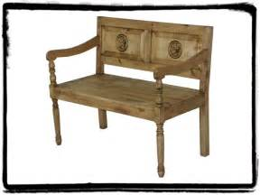 mexican bench mexican furniture mexican rustic furniture and home