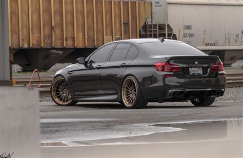 bmw 5 rims a bmw f10 m5 gets some directional forged goodies adv 1