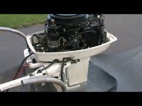 remove lower unit off a 1987 20hp evinrude page 1