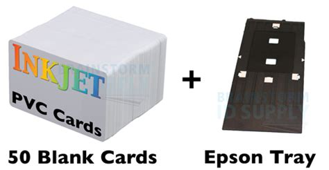 Printer Epson Id Card inkjet pvc id card starter kit epson r200 r300 50 ij