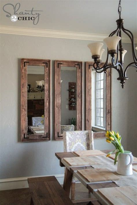25 best ideas about wall mirrors on rustic