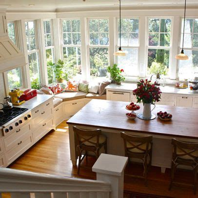 kitchen with lots of windows for the home pinterest