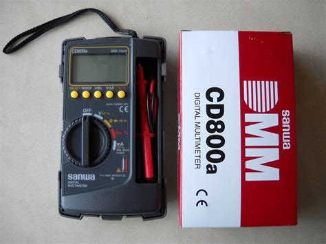 Multitester Merk Sanwa harga jual sanwa cd800a multimeter digital